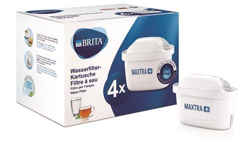 Pack de 4 Cartouche filtre à eau Brita Maxtra+