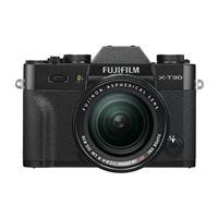 Fuji X-T30 Hybride Camera Zwart + Lens XF 18-55mm f/2.8-4