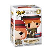 Figurine Funko Pop Harry Potter Ron Weasley Coupe du monde Exclusivité Fnac NYCC
