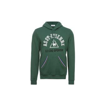 Sweat à capuche Le coq sportif ASSE Fanwear Vert Taille M