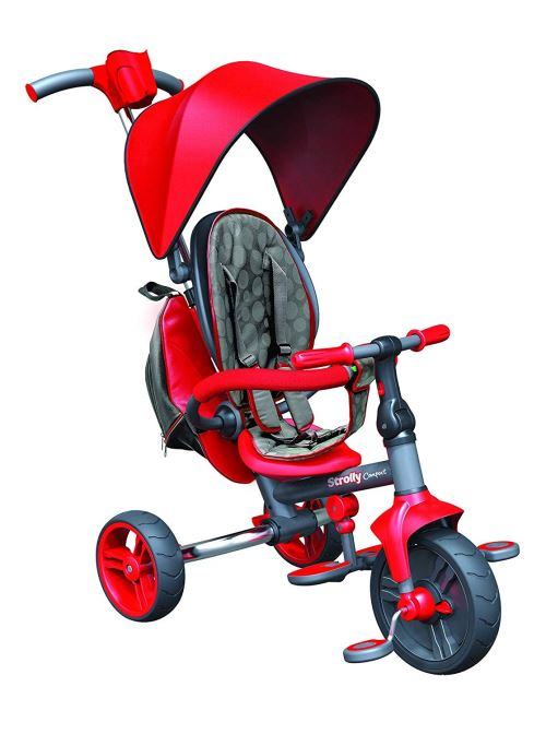 Tricycle Yvolution Strolly Compact Rouge
