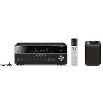 Amplificateur Home Cinéma Yamaha RX-V683 Noir + enceinte multiroom Yamaha WX-010 Noir