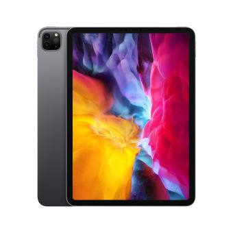 """Apple iPad Pro 11"""" 128 Go Gris sidéral Wi-Fi 2020 2ème génération"""