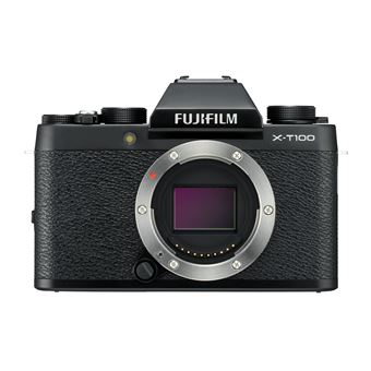 Hybride Fujifilm X-T100 Boîtier nu Noir