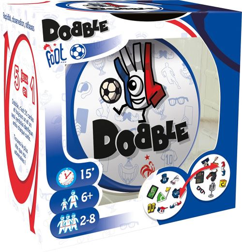 Jeux d'ambiance Dobble Foot FFF Asmodee