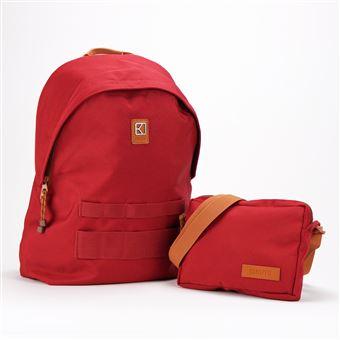 Sac à dos personnalisable et modulable Kuts Cityzen 18 L Rouge