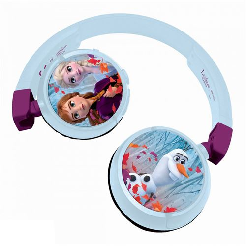 Casque Bluetooth® Lexibook Filaire pliable Disney Frozen La Reine des Neiges 2