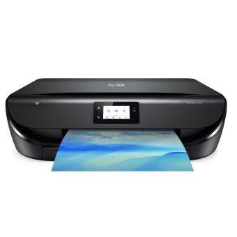 Imprimante Hp Envy Photo 5050 Tout En Un Wifi Noir 2 Ans Dabonnement à Instant Ink Inclus