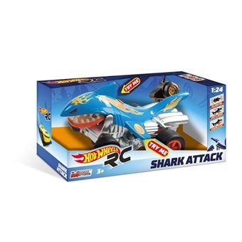 Radiocommandée Attack Voiture Motors Hot Mondo Wheels Shark 124 80wOPkXn