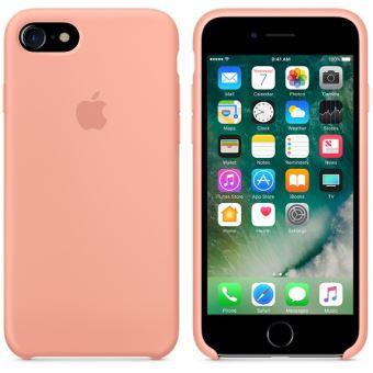 coque iphone 7 silicone flamant rose