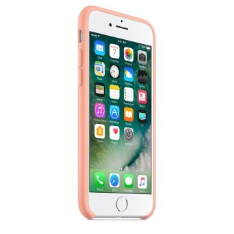 coque iphone 7 apple rose