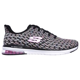 Chaussures Femme Skechers Skech Air Infinity Free Fallin Noires et Roses Taille 41