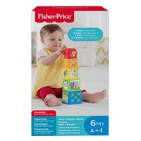 FISHER PRICE - STACK & DISCOVER BLOCKS