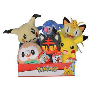 Peluche Pokémon 20 cm Modèle Aléatoire