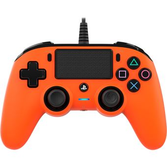 Manette filaire Nacon Orange pour PS4