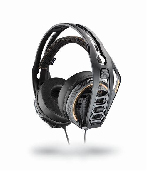 Casque Gaming filaire Nacon RIG 400 PRO HC pour PS4 Noir