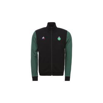 f722abb8b107 Veste de survêtement Le coq sportif ASSE Fanwear Vert Taille L ...