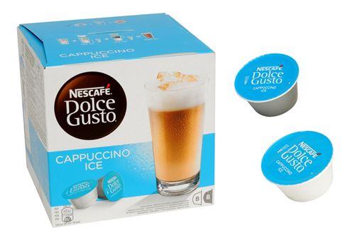 Boîte de 16 capsules Dolce Gusto Nescafé Cappuccino glacé