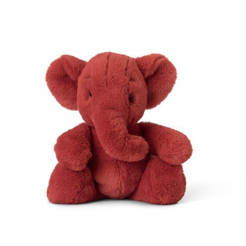 Animal en peluche Wwf Ebu l'éléphant 29 cm Rouge