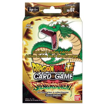 Jeu de cartes Bandai-Dragon Ball Z Super Starter 7
