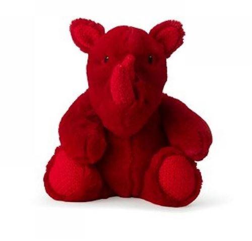Animal en peluche Wwf Rira Rhino 29 cm Rouge