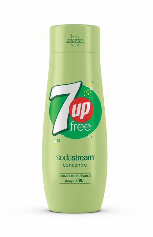 Sirop concentré SODASTREAM 7up Free