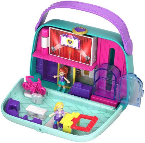 Playset Mattel Polly Pocket Le sac à boutiques