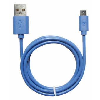 Câble Temium Micro-USB 1m Bleu
