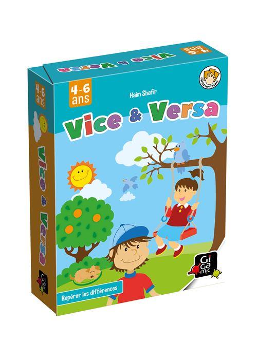 Jeu de cartes Gigamic Vice et Versa