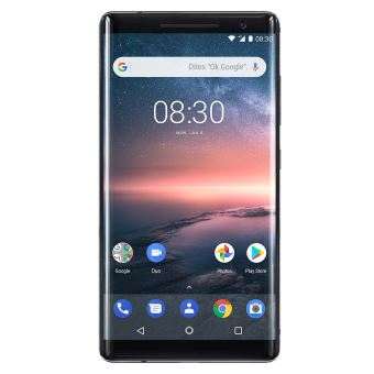 Smartphone Nokia 8 Sirocco 128 Go Noir