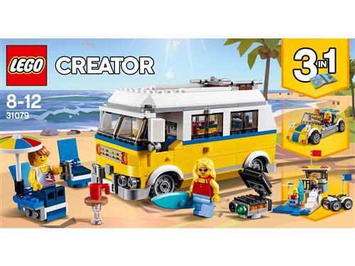 LEGO® Creator 3 en 1 31079 Le van des surfeurs