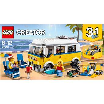 LEGO 31079 ZONNIG SURFERBUSJE -LE VAN DES SURFEURS