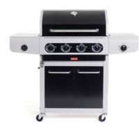 Barbecue à gaz Barbecook Siesta 412 4 brûleurs Noir