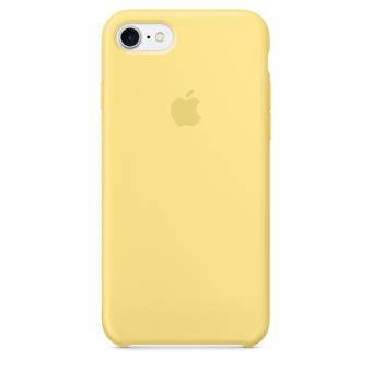 Coque Apple pour iPhone 7 en silicone Pollen