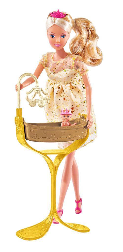 Playset Simba Steffi Love Enceinte bébé royal