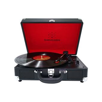 Platine disque Swingson On Stage Noir