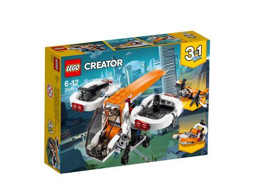 LEGO® Creator 3 en 1 31071 Le drone d'exploration