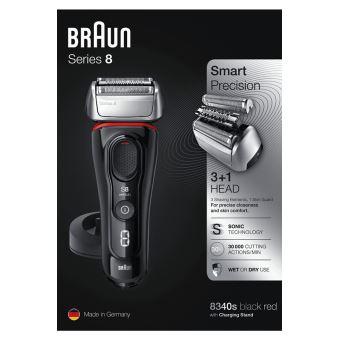 Rasoir Braun Series 8 8340s Noir