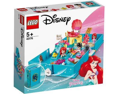 LEGO® Disney Princess™ 43176 Les aventures d'Ariel dans un livre de contes