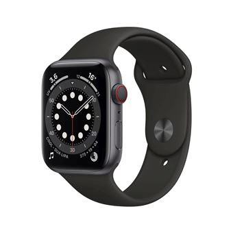 Photo de apple-watch-series-6-44mm-boitier-aluminium-gris-sideral