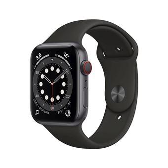 Photo de apple-watch-series-6-44mm-boitier-aluminium-gris-sideral