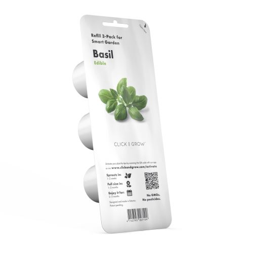 Recharge Click and Grow Basilic 3 capsules