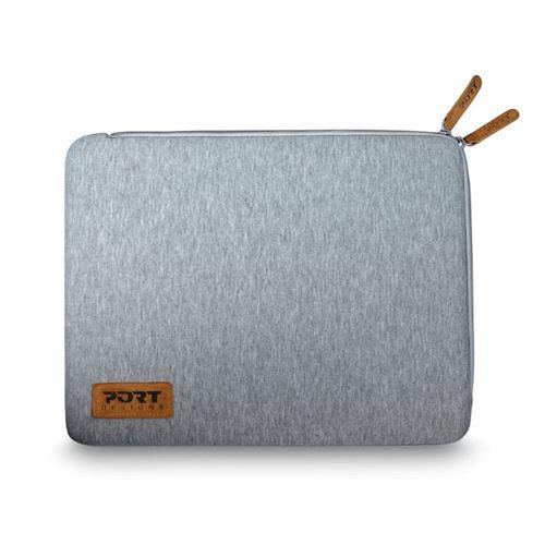 """Housse Port Designs Torino Gris pour PC portable 15.6"""""""