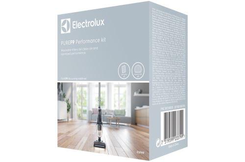 Kit de 2 filtre pour aspirateur Electrolux Noir