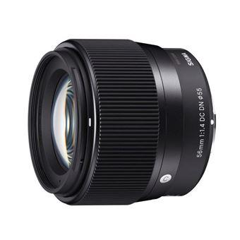 Objectif Sigma 56 mm f/1.4 DC DN Noir pour Olympus et Panasonic 4/3