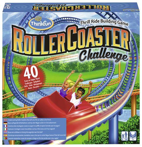 Think Fun Jeux Logique Roller Coaster +6 ans