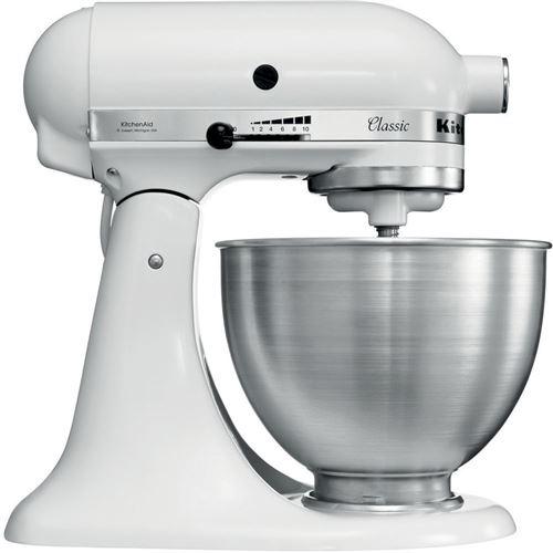 Robot Pâtissier KitchenAid® Classic 250 W Blanc 5K45SSEWH