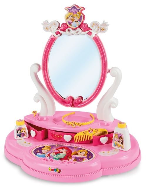 Playset Smoby Disney Princesses Coiffeuse sur table