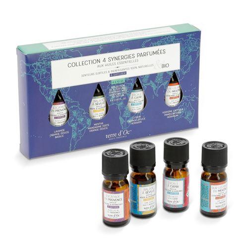 Coffret 4 synergies parfumées