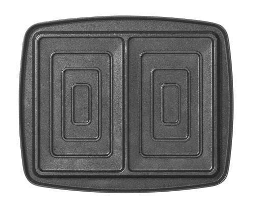 Jeu de plaques Super 2 Antiadhésives Lagrange pour 2 croque monsieur 030423 Noir